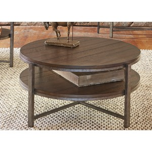 Round Cocktail Table | Liberty Furniture