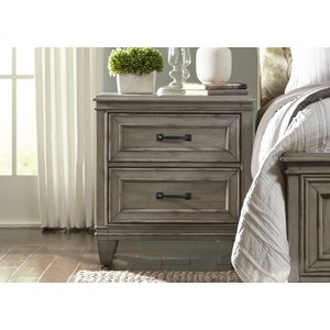 Two Drawer Nightstand | Liberty Furniture