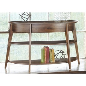 Demilune Sofa Table | Liberty Furniture