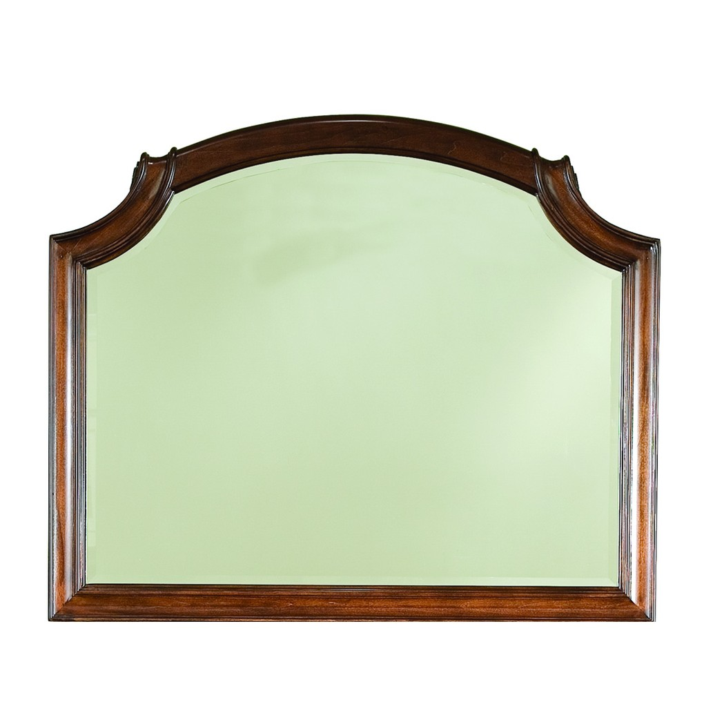 Evolution Bureau with Scroll Top Mirror | Legacy Classic
