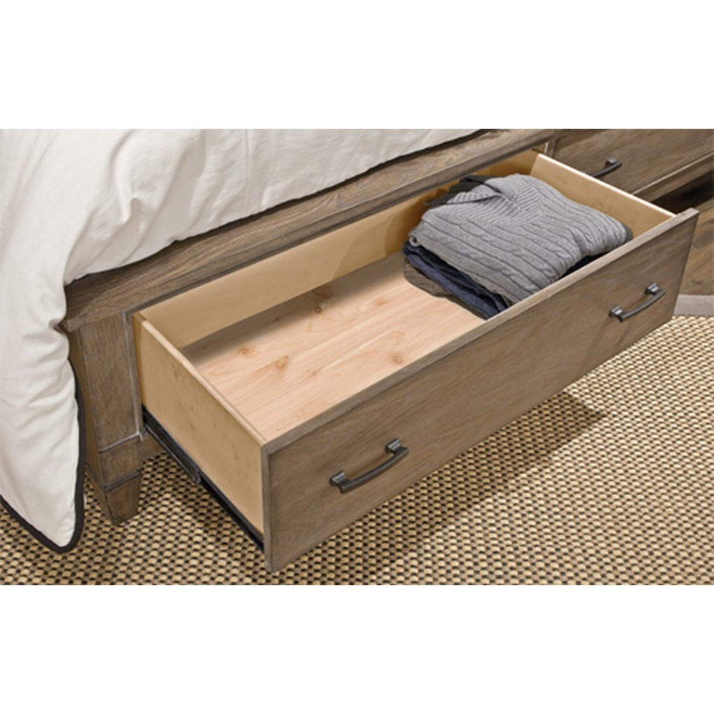 California King Storage Panel Bed | Legacy Classic