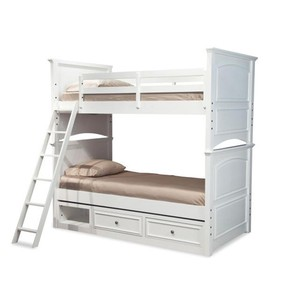 Twin over Twin Bunk Bed with Underbed Storage   Legacy Classic