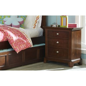 Three Drawer Nightstand | Legacy Classic