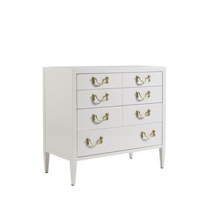 Beaufain Nightstand in Ropemaker's White