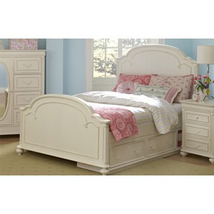 Full Arched Panel Bed | Legacy Classic