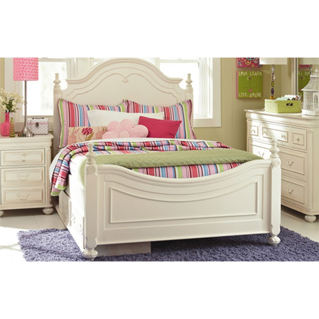 Full Low Poster Bed | Legacy Classic