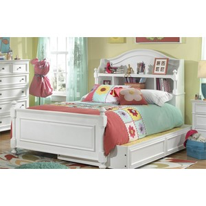 Full Bookcase Bed with Storage Drawer | Legacy Classic