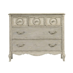 Rond Media Chest in Vintage Neutral