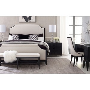 Queen Upholstered Bed | Legacy Classic