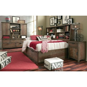 Full Bookcase Lounge Bed   Legacy Classic