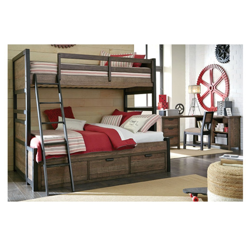 Twin over Full Bunk Bed | Legacy Classic