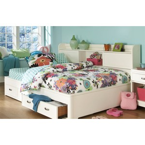 Twin Bookcase Lounge Bed