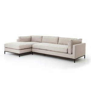 Grammercy Two Piece Sectional Sofa | Four Hands