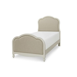 Twin Victoria Upholstered Panel Bed