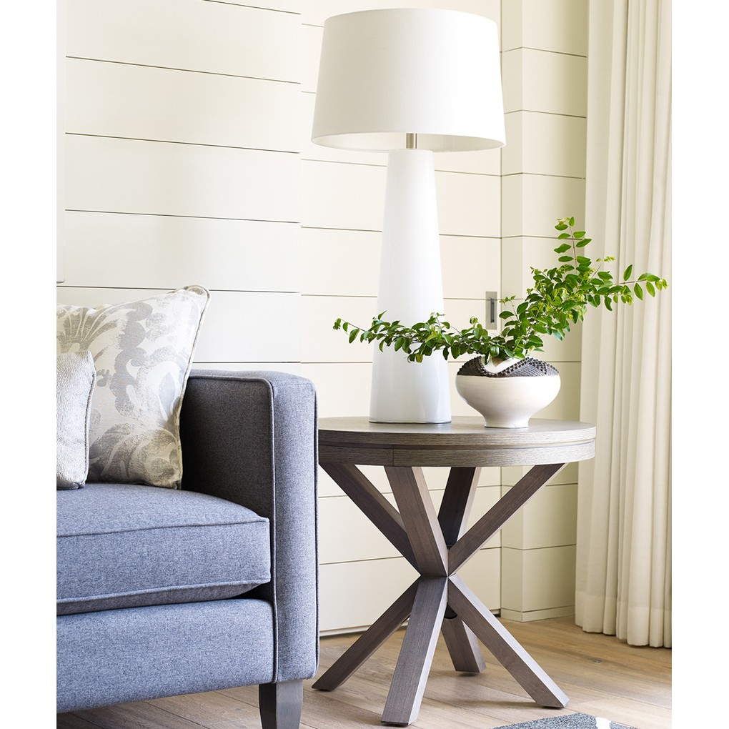 Rachael Ray Round Lamp Table   Legacy Classic