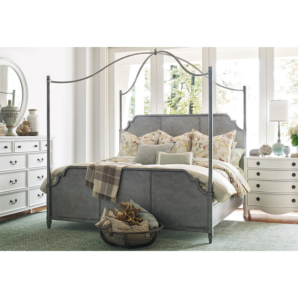 Rachael Ray Queen Metal Canopy Bed | Legacy Classic