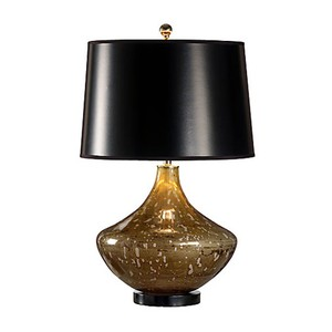 Art Glass Jar Lamp
