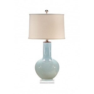 Bottle Blue Lamp | Wildwood Lamp