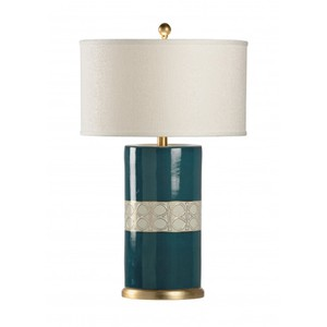 Nelly Lamp in Teal