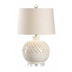 Carlotta Lamp in Aged Cream | Wildwood Lamp