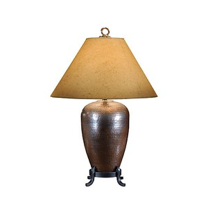 Hammered Copper Lamp | Wildwood Lamp