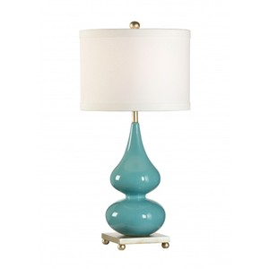 Whitney Lamp in Turquoise | Wildwood Lamp