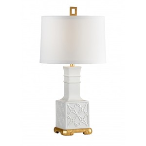Lila Lamp in White | Wildwood Lamp