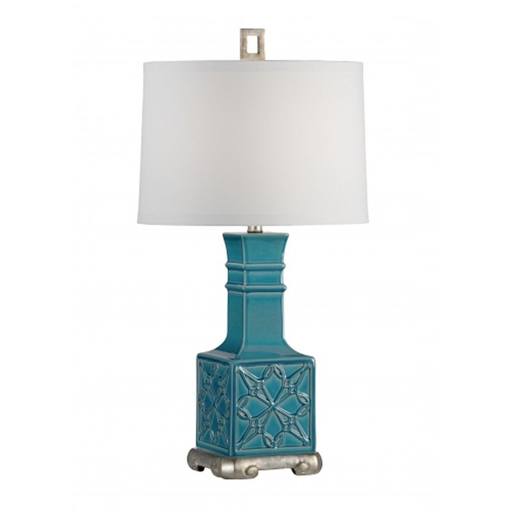 Lila Lamp in Teal | Wildwood Lamp