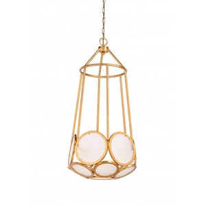 Earlom Pendant in Gold | Wildwood Lamp