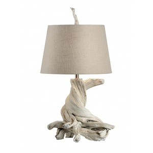 Olmsted Lamp in Whitewash | Wildwood Lamp