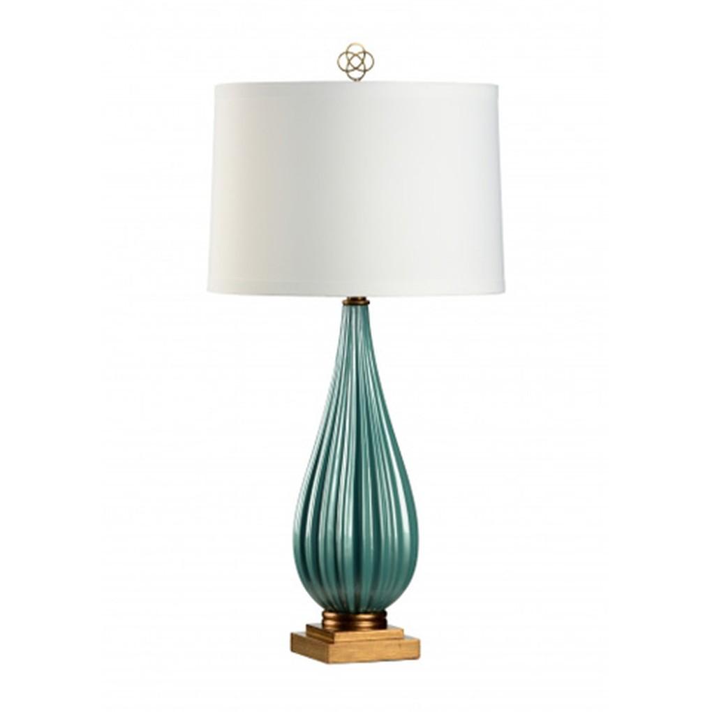 Bridget Lamp in Peacock | Wildwood Lamp