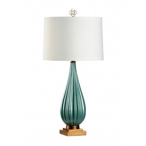 Bridget Lamp in Peacock | Wildwood Lamp