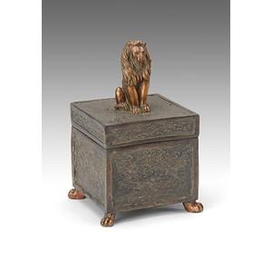 Lion Lid Box