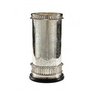Mercury Glass Candleholder