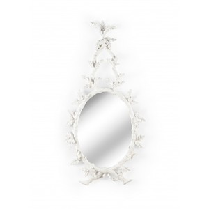 Oakmont Mirror in White | Wildwood Lamp