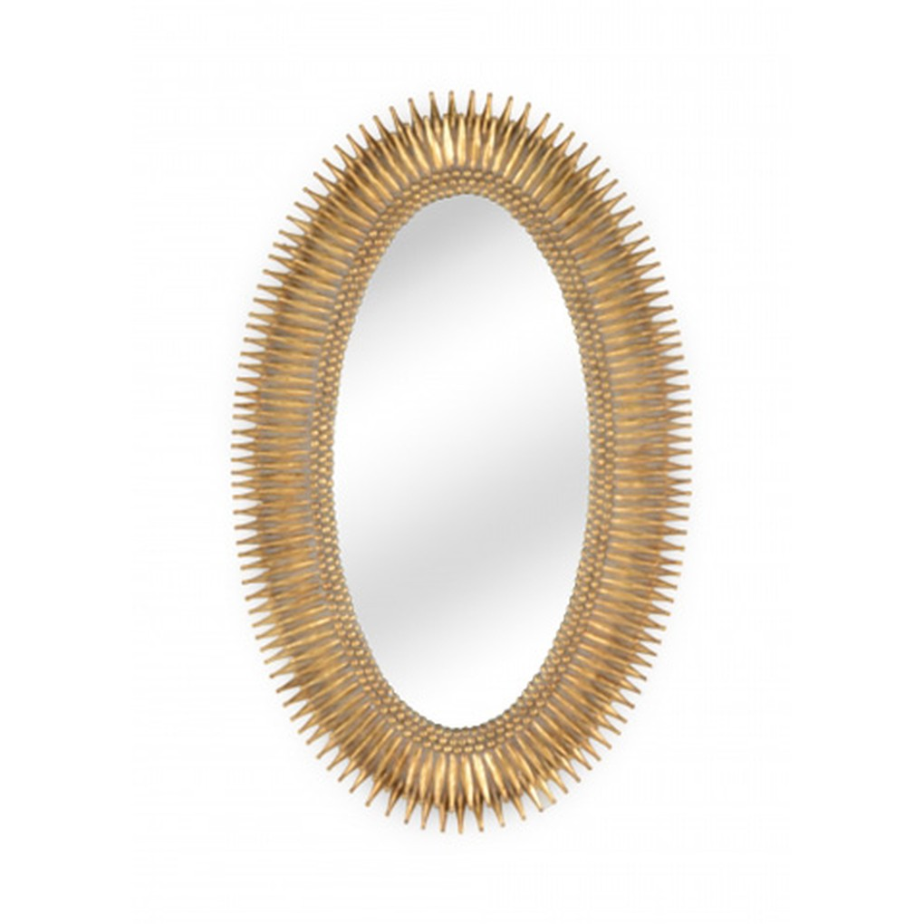 Lucius Mirror in Gold | Wildwood Lamp