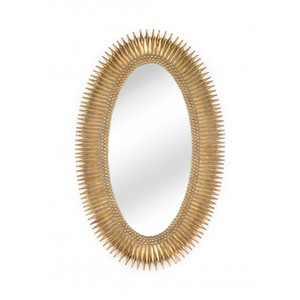 Lucius Mirror in Gold | Wildwood Lamp
