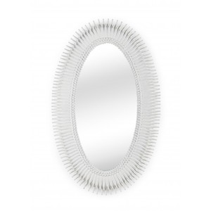Lucius Mirror in White | Wildwood Lamp