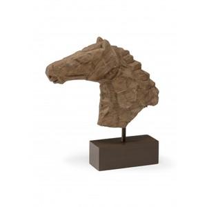 Chiseled Horsehead Sculpture | Wildwood Lamp