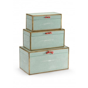 Cousteau Boxes in Sea Mist | Wildwood Lamp