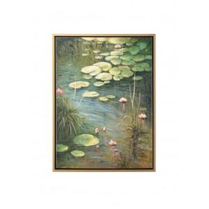 Aqua Lillies Art