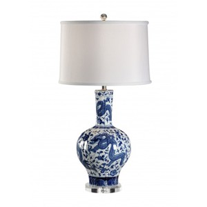 Blue Dragon Lamp