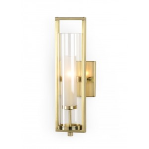 Lancaster Sconce in Brass | Wildwood Lamp