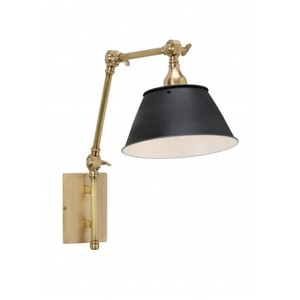 Franklin Arm Sconce in Brass | Wildwood Lamp