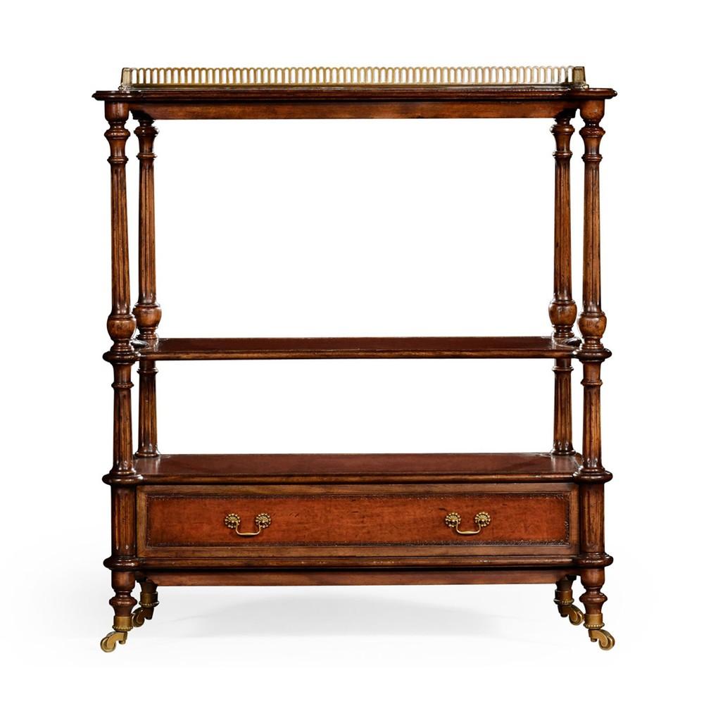 Victorian Style Three-Tier Rectangular Etagere | Jonathan Charles