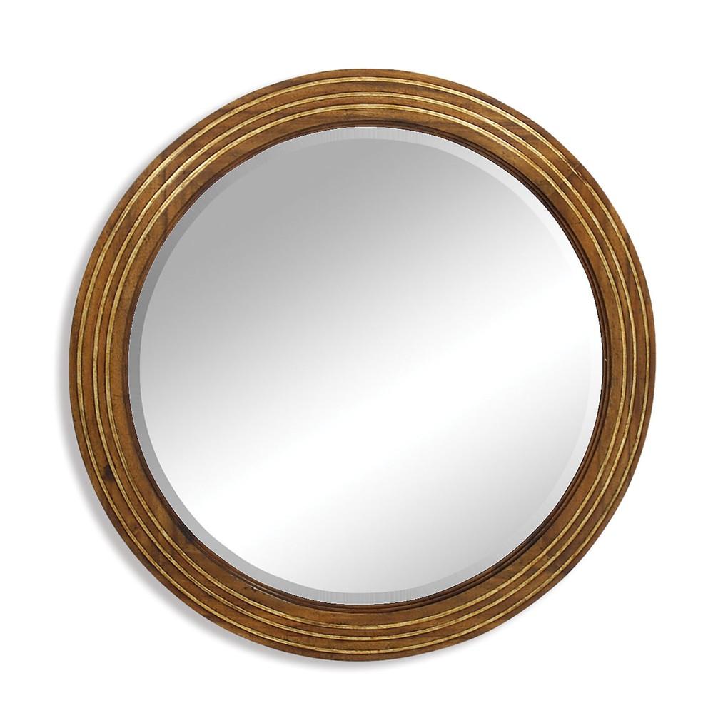 Large Round Eglomise Mirror   Jonathan Charles