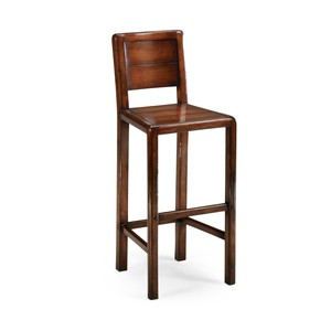 Planked Walnut Barstool