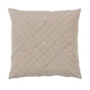 Veranda Bone Quilt Interlaced Outdoor Pillow