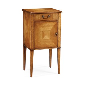 Pair of Satinwood Bedside Cabinets | Jonathan Charles