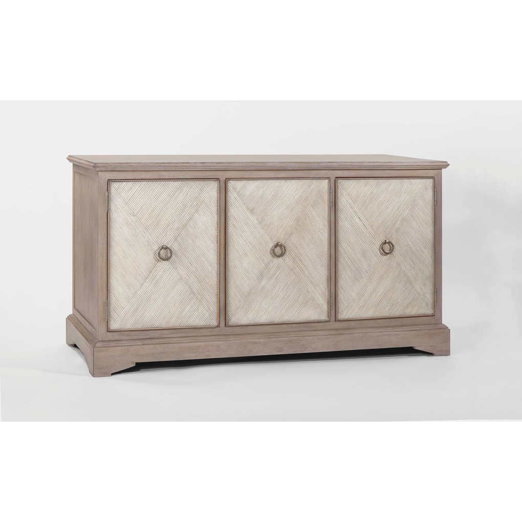 Ansley Parched Oak Cabinet | Gabby